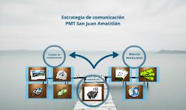Estrategia comunicacion PMT
