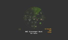 WWI Scavenger Hunt