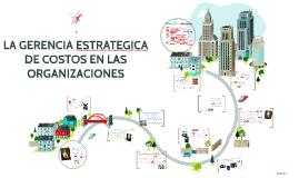 GERENCIA ESTRATEGICA DE COSTOS EN LAS ORGANIZACIONES