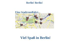 Eine Stadtrundfahrt - Berlin