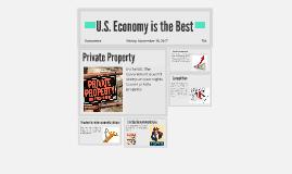 U.S. Economy is the Best