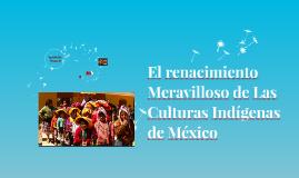El renacimiento Meravilloso de Las Culturas Indígenas de Méx