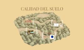 CALIDAD DEL SUELO