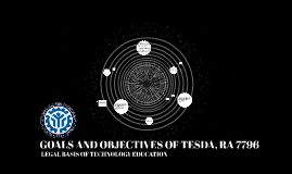 GOALS AND OBJECTIVES OF TESDA, RA 7769