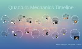 Copy of Quantum Mechanics Timeline