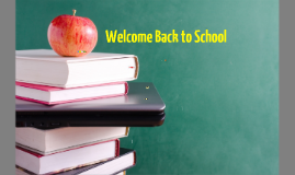 7th Welcome Back to School and Homeroom