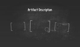 Artifact Description