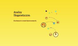 Analizy filogenetyczne