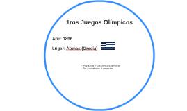 1ros Juegos Olímpicos