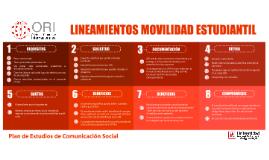 Lineamientos movilidad Académica UFPSO