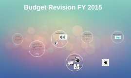 Budget Revision FY 2015