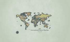 International Policies Timeline
