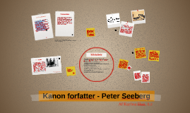 Copy of Kanon forfatter - Peter Seeberg