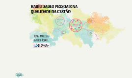 HABILIDADES PESSOAIS NA QUALIDADE DA GESTÃO