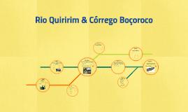 Rio Quiririm & Córrego Boçoroco