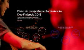 Plano de comportamento financeiro Duo Finlandia