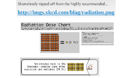 Radiation Doses XKCD homage