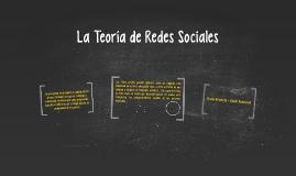 La Teoría de Redes Sociales