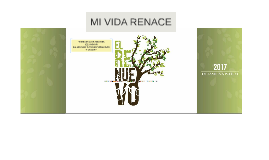 Copy of EL RENUEVO DE MI VIDA