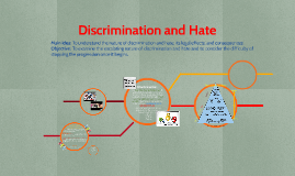 Hate and Discrimination