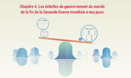 Terminale L-ES - H4 - Les échelles de gouvernement du monde