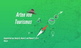Copy of Arten von Tourismus