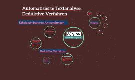 Münster II Automatisierte Textanalyse
