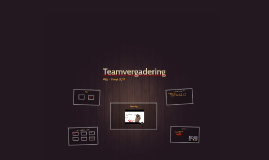 Teamvergadering