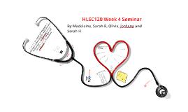 HLSC120 Seminar