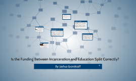 Is the funding between Incarceration and Education split cor