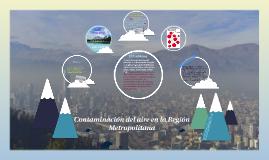 Contaminación del aire en la Región Metropolitana