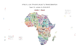 Copy of Africa's Lion: Ethiopia's road to transformation 09.03.2015