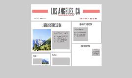 LOS ANGELES, CA REGRESSION