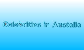 Celebrities in Australia