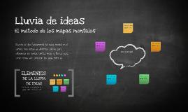 Plantilla Mapas Mentales de Sandra Evangelina Ojeda