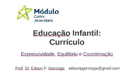 Educação Infantil: Currículo