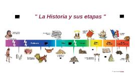 Tema 3 P1:La Historia y sus etapas. 6º EP