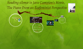 Reading silence in Jane Campion's Movie,
