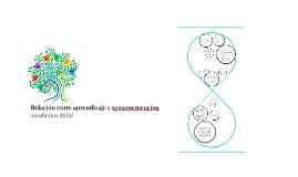 Copy of Relacion aprendizaje y sensopercepcion