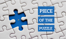 Cópia de Piece of the Puzzle - Free Prezi Template