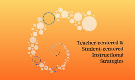 Student-centered & Teacher-centered Instructional Strategies