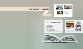 Analyzing Documents