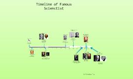 Tea Veronica DH Famous Scienctist Timeline