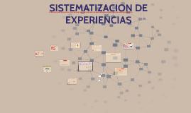 SISTEMATIZACION DE EXPERIENCIAS Nes