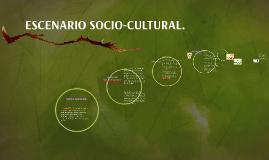 ESCENARIO SOCIO-CULTURAL.