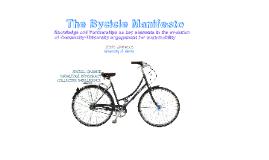 Bycicle Manifesto
