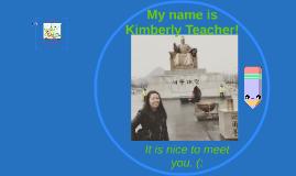 Kim Introduction Presentation