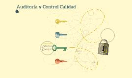 Auditoria y Control Calidad