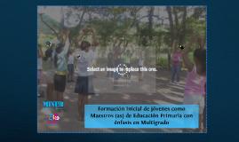 Copy of Formación Permanente del Docente de Educación Inicial para la Etapa Maternal
