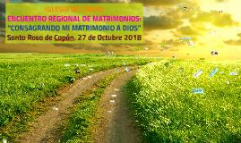 ENCUENTRO DE MATRIMONIOS SRC